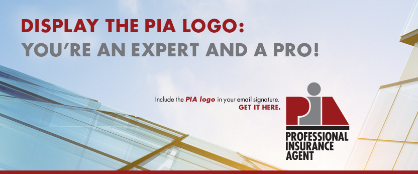 Display the PIA logo