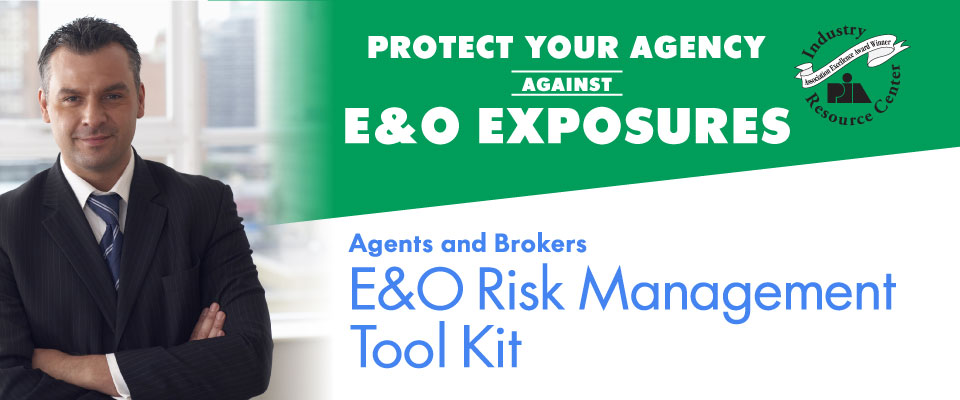 E&O Risk Management Tool Kit
